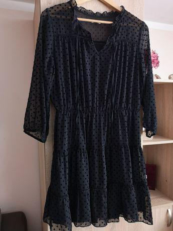 Rochie neagra Reserved, marimea L (40-42)