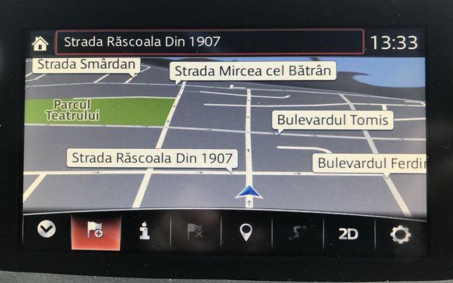 Android Auto / Actualizare harti 2020 Mazda Connect 2/3/6/CX-3,5/MX-5
