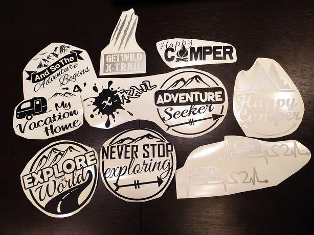 Stickere Explorer/ camper/rulota
