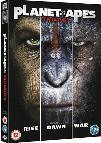 Filme DVD Planeta Maimutelor 1-3 Complete Collection ( Originale )