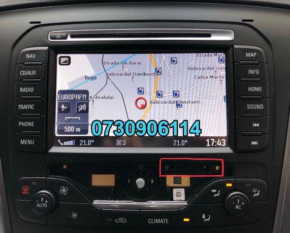 Card Harta Navigatie Gps Ford MCA-Focus,Mondeo,Kuga,S-Max-Romania 2019