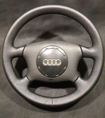 Тапициран кожен волан Audi A3 A4 A6