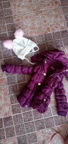 Детско яке 10лв лилаво