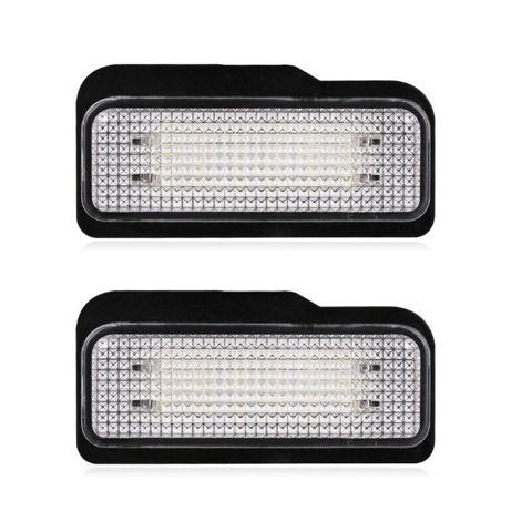 Set lampi LED numar dedicate MERCEDES W211 W203 W219 R171