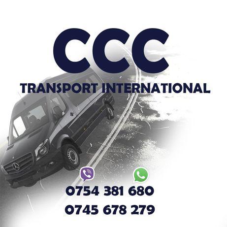 Transport persoane / colete / masini si utilaje Germania/Belgia/Olanda