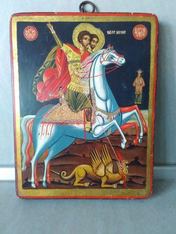 Св.Георги-Стара ИКОНА от 18 век.