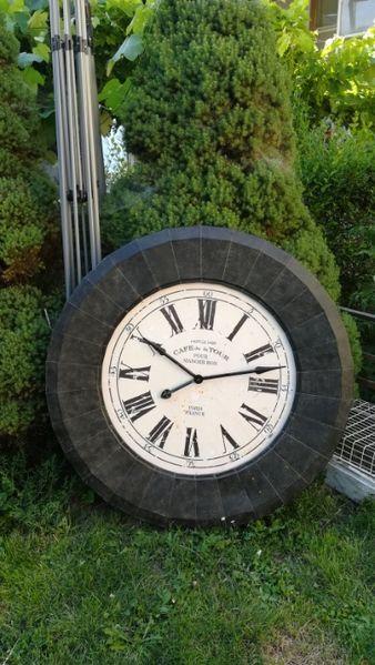 Френски, Голям метален часовник за заведение Cafe de la Tour гр. Разград - image 1
