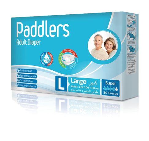 30 buc Scutece Adulti Paddlers, Marimea L, discount 35%