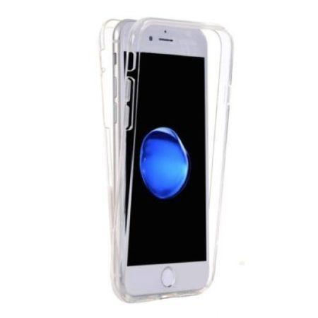 Capacul Full TPU 360° 2 piese iPhone 6 Plus/6S Plus Transparenta