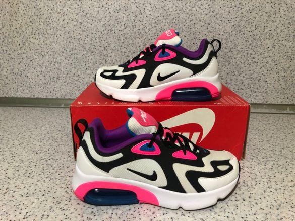 ОРИГИНАЛНИ *** Nike Air Max 200 / White/Black/ Hyper Pink