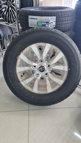 Комплект дисков r18 5×150 с резиной 285/60 Dunlop