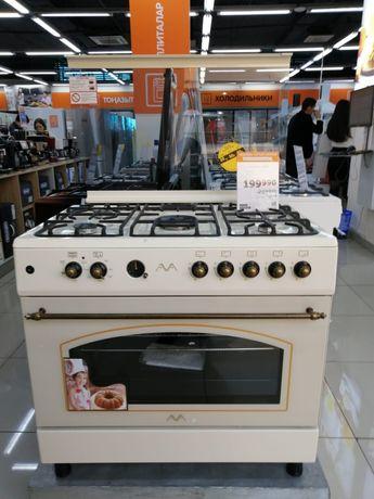 Газ плита новая в упаковке брали для себя кухня маленькая