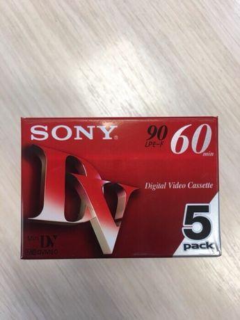 Видеокассета. Mini DV. Sony. Оригинал. Видео.
