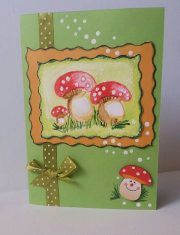 Картички,покани и пликове ръчна изработка