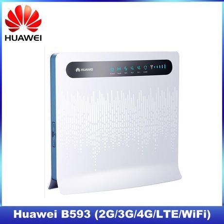 Мощный 4G LTE роутер (модем) Huawei B593