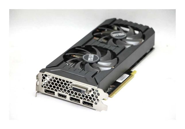 Видеокарта 6Gb Palit NVIDIA GeForce GTX1060 Питание 6 pin Алматы