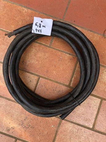 Cablu electric cauciuc 4x4 MCG 6,8 ml