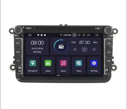 Navigație 8 Inch VW SEAT SKODA Android 10, DSP, 4 Gb Ram Px5 Octa Core