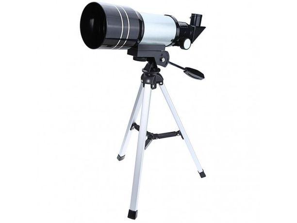 Telescop astronomic si terestru cu trepied metalic inclus.
