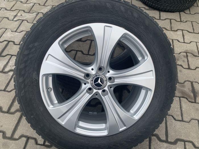 Jante Mercedes W253 GLC Originale R18 anvelope 235 60 R18 Nokian Iarna Bucuresti - imagine 1
