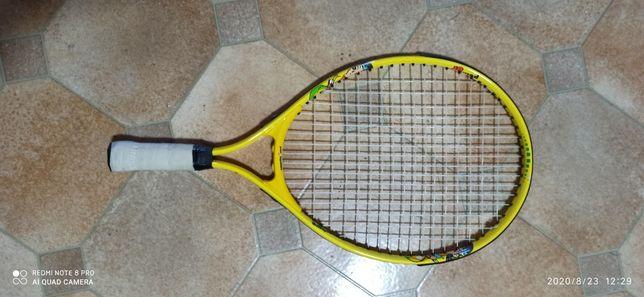 Теннисная ракетка, детская