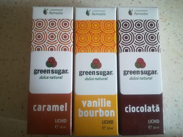 Îndulcitor natural din Stevie cu aroma de caramel/ciocolata/vanilie