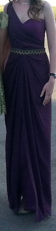 Rochie de ocazie lunga, mov, marimea 36
