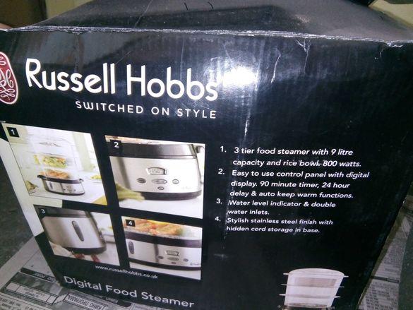Уред за готвене на пара russell hobbs
