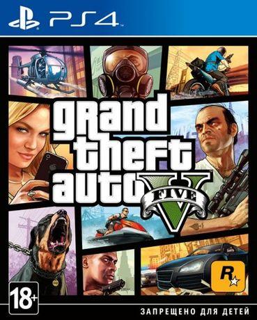 Новый диск Grand Theft Auto V [PS4] магазин GAMEtop \ возможен обмен