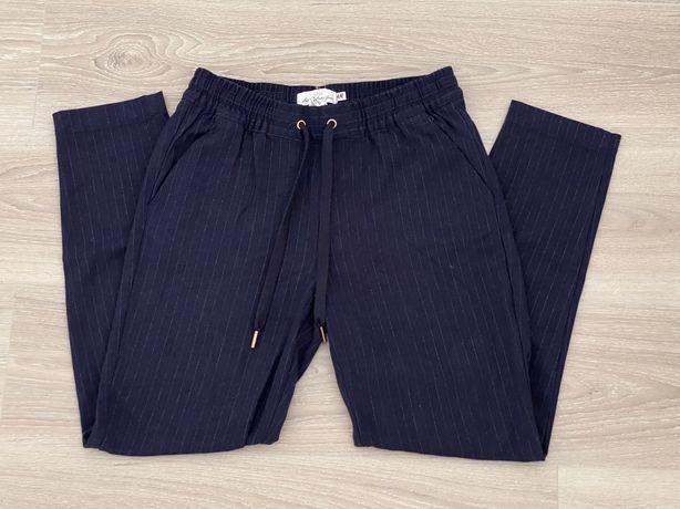 Pantaloni sport-eleganti bleumarin