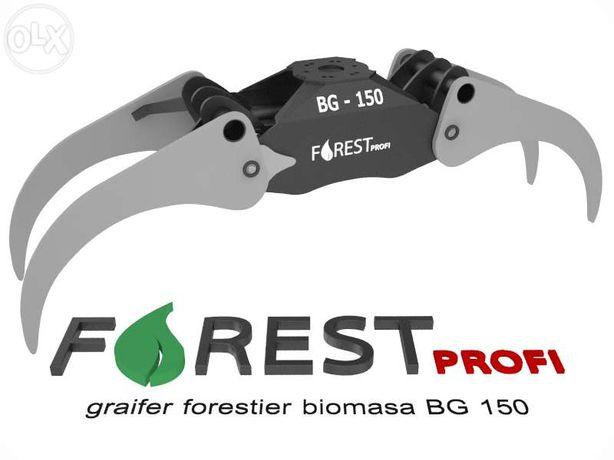 Graifer forestier BG 150 deschidere 1500mm