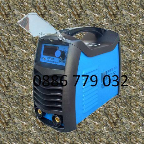 250А F1 МАХ Електрожен инверторен с дисплей ММА 4 м кабели