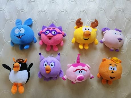 Продам мягкие игрушки смешарики