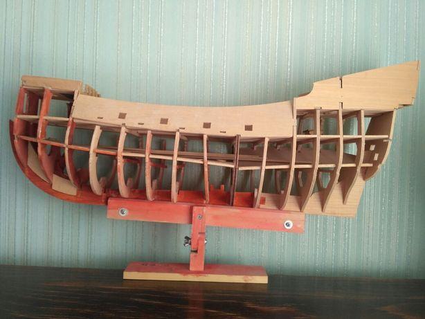 Корабль .недостроенный