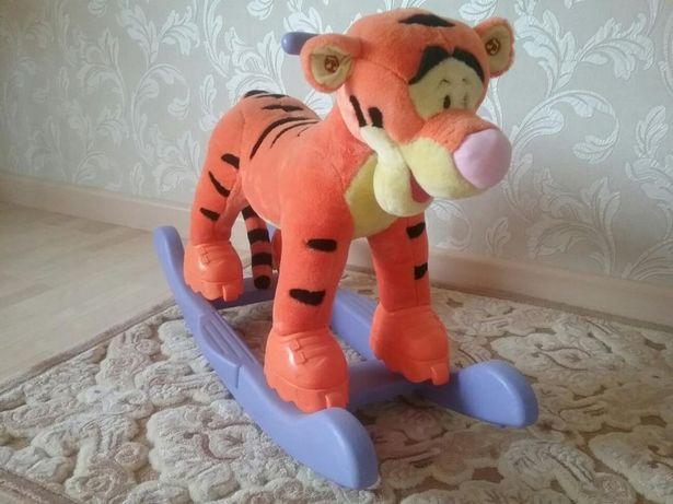 Качалка-каталка тигруля великан, в идеальном состоянии