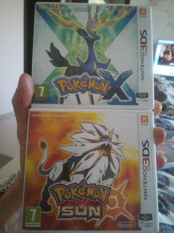 3DS PokemoX și Sun