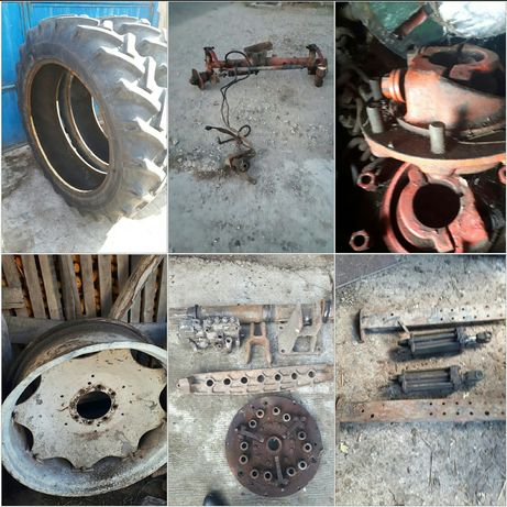 Punte fata,radiator,butuci spate,placa presiune,Motor,Tractor U650
