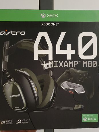 Casti Astro Gaming A40 TR + MixAmp M80 pentru Xbox One & PC