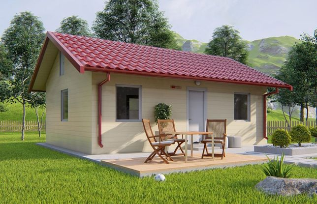 Containere modulare stil casa, birou, garaje auto din panou sandwich