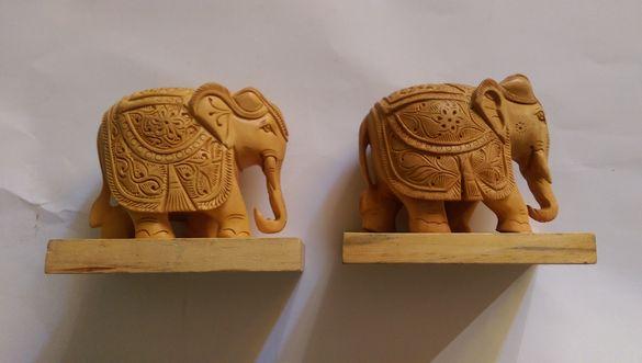 Дървени Индийски слонове