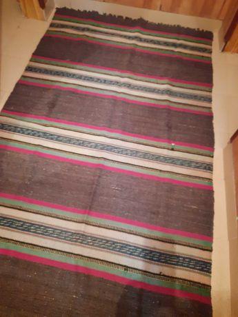 Домашно тъкана шарена черга - 1 брой - 15 лева