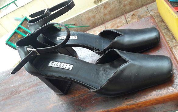 Черни официални обувки Nickels - летни 39 номер