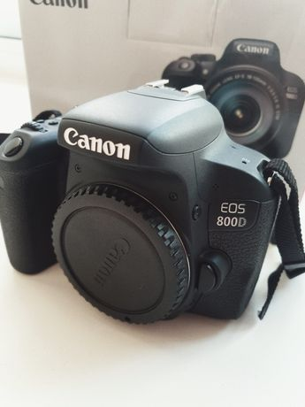 Фотоаппарат Canon 800d