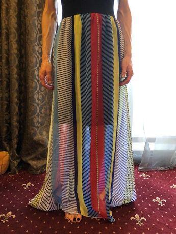Rochie lunga/colorata-dungi USA