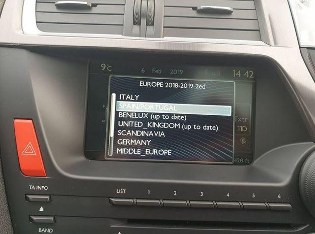 NOU! Harti navigatie RT6 2020 -1 Citroen, Peugeot, Citroen DS3 DS4 DS5