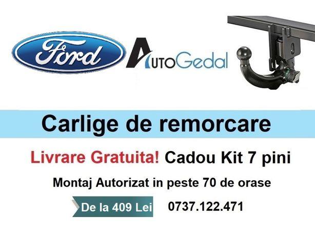Carlig Remorcare FORD Focus, Mondeo, Fiesta, Transit, B-Max, C-Max etc