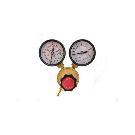 Reductor de presiune argon si CO2,cu doua manometre
