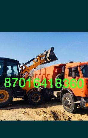 УСЛУГА Камаз 15 тн и трактор JCB
