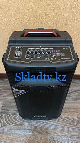 Акустическая Портативная Bluetooth AUX USB Колонка бренда COV 80Ватт