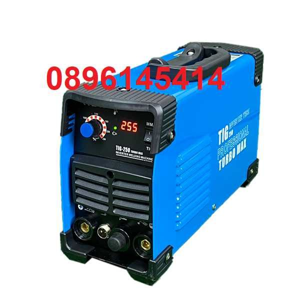 Електрожен инверторен + аргон FullMax TIG MMA 250А дигитален
